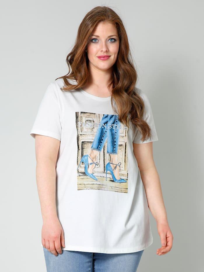 Shirt mit modischem Print