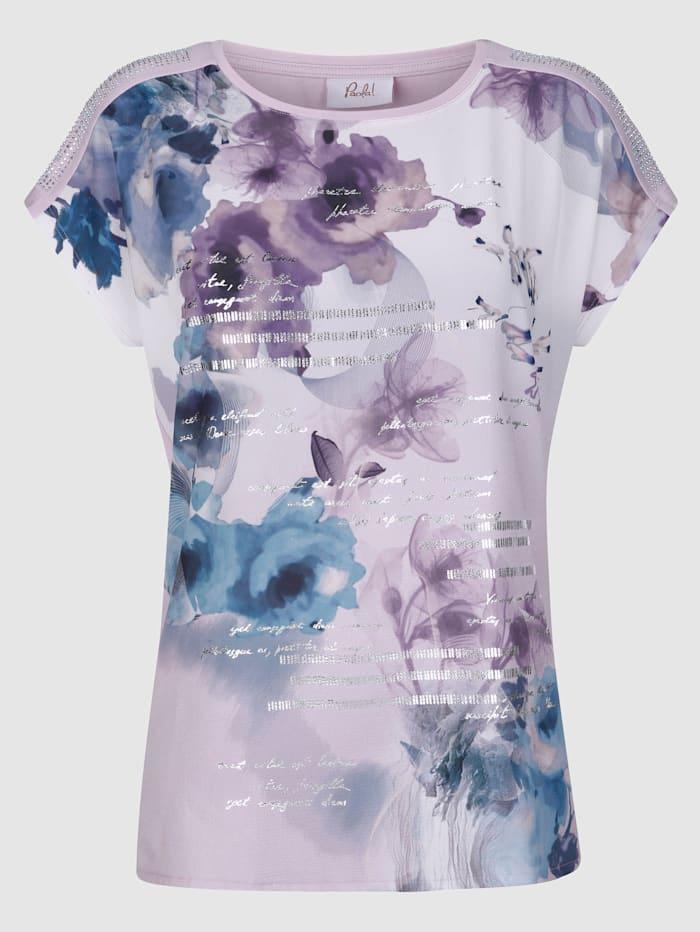 Shirt mit floralem Aquarelldruck