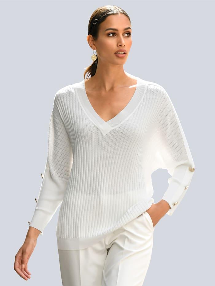 Alba Moda Pullover, Off-white