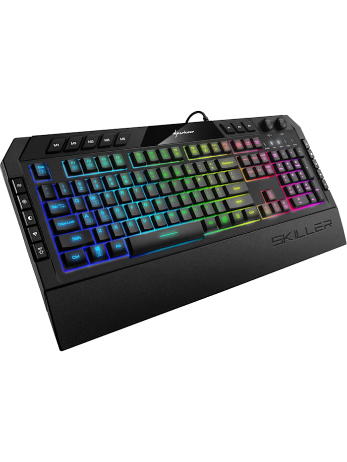 Sharkoon Gaming-Tastatur SKILLER SGK5, Schwarz