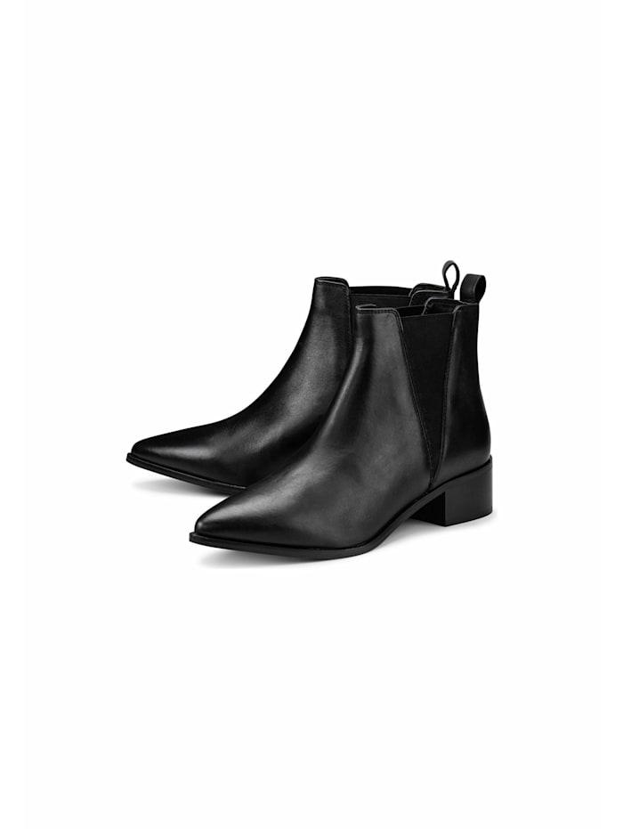 Another A Klassische Stiefeletten Chelsea-Boots, schwarz