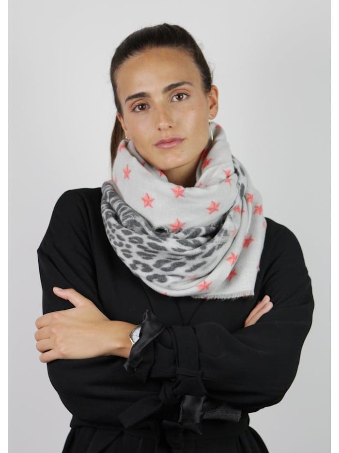 Oversized-Schal mit feiner Viskose