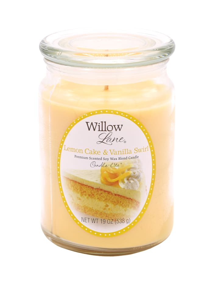 Candle-Lite Duftkerze Zitrone, gelb