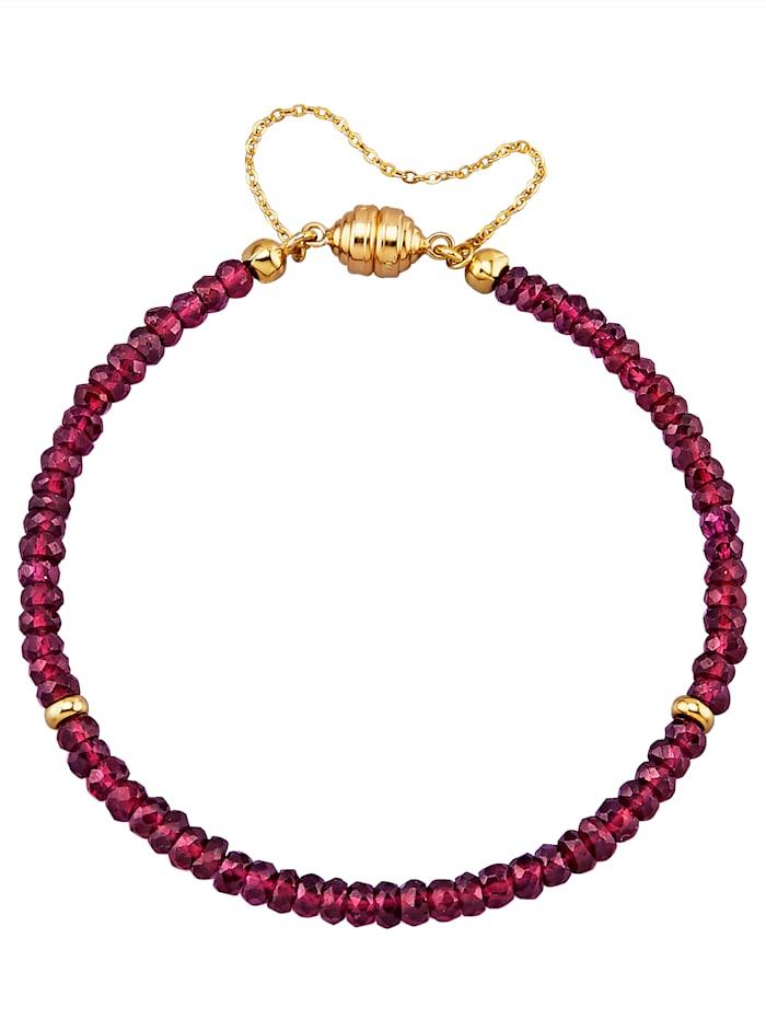 Sogni d'Oro Rhodolith-Armband, Lila