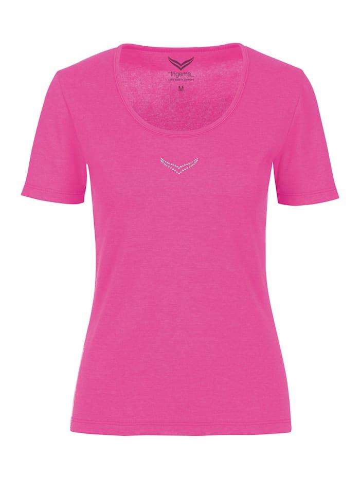 Damen T-Shirt mit Swarovski® Kristallen