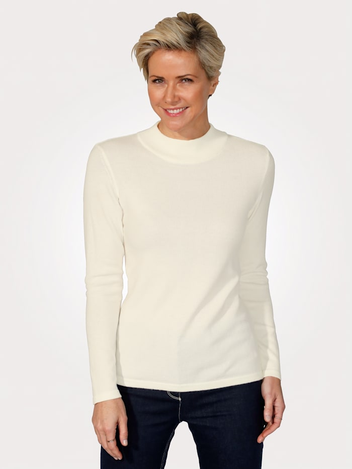 MONA Jumper made from a premium-quality fabric, Ivory