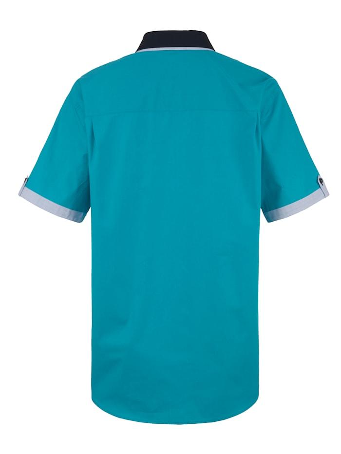 Overhemd met modieuze accenten