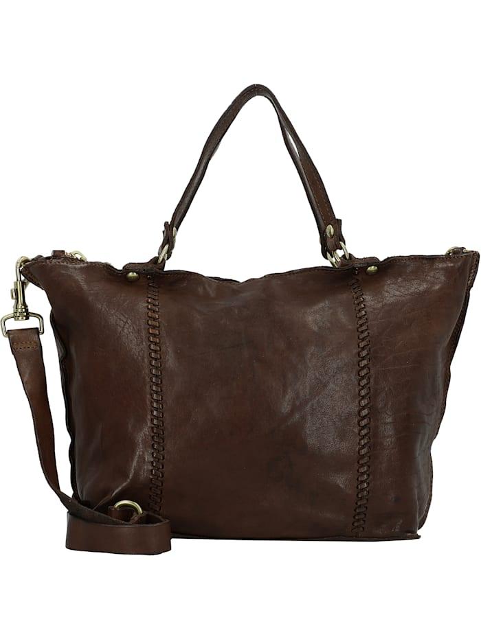 Campomaggi Shopper Tasche Leder 30 cm, moro