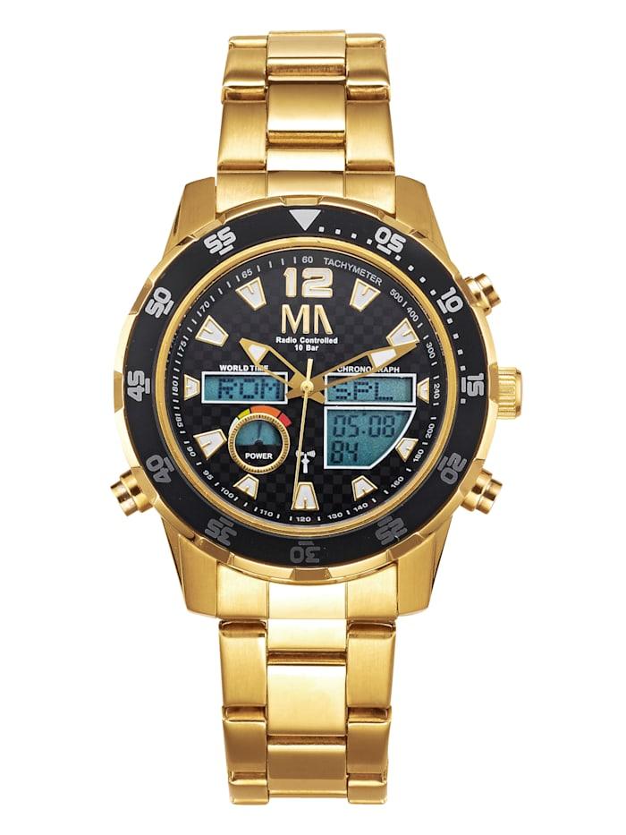 Chronographe radio-piloté solaire World Timer avec bracelet de rechange