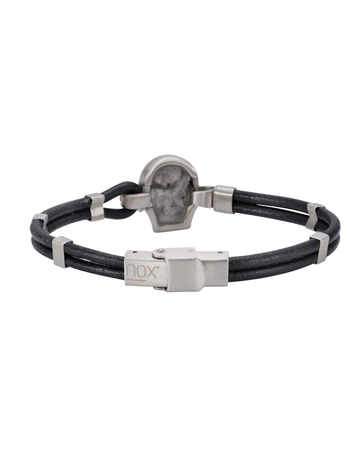 Armband Edelstahl 21cm Mattiert