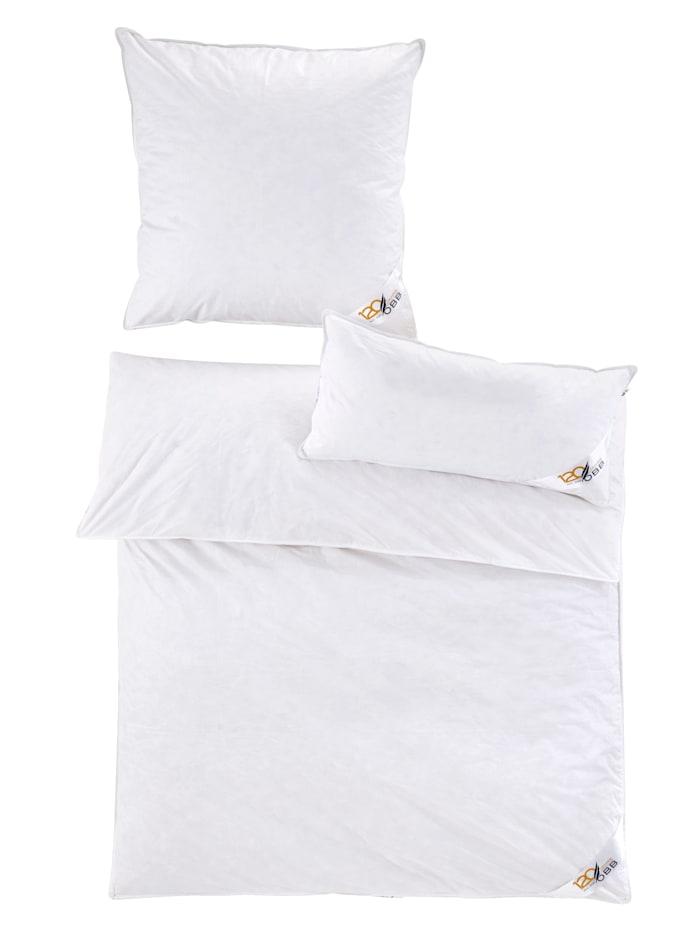 OBB Daunen- & Federn  Bettenprogramm, Weiß
