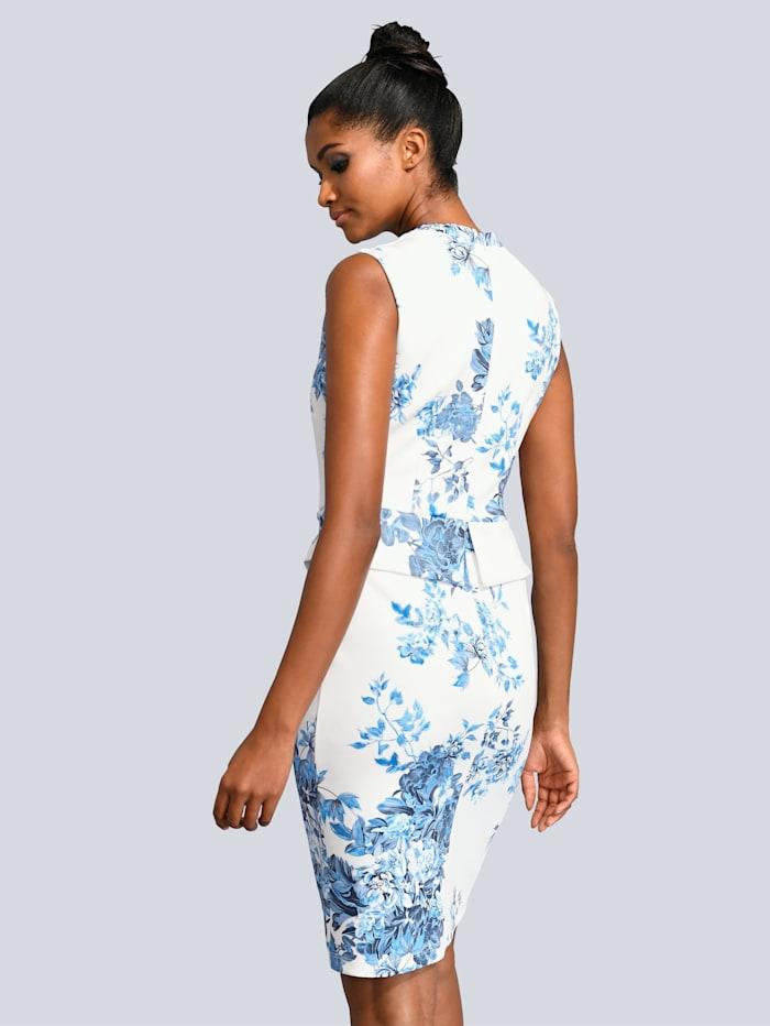 Kleid allover im floralen Druck