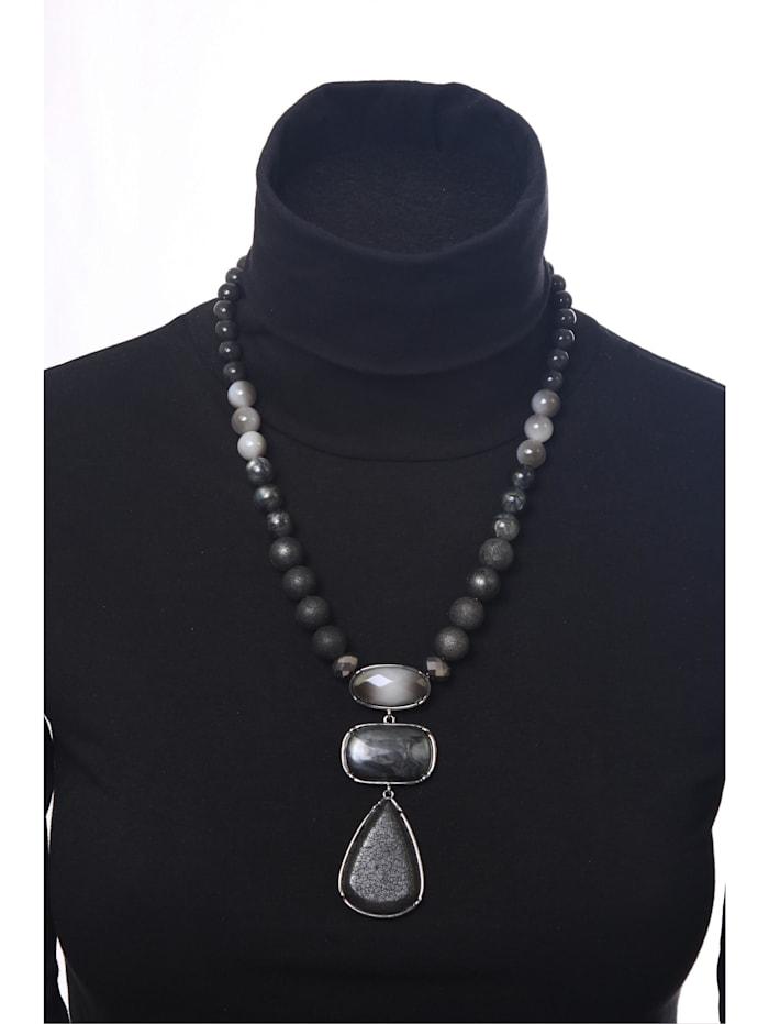 Kurze Kette Helene mit unterschiedlichen Perlen