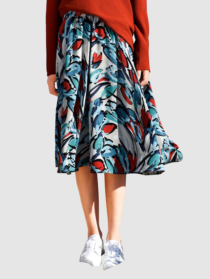 Dress In Sukně ve splývavé kvalitě, Kamenná