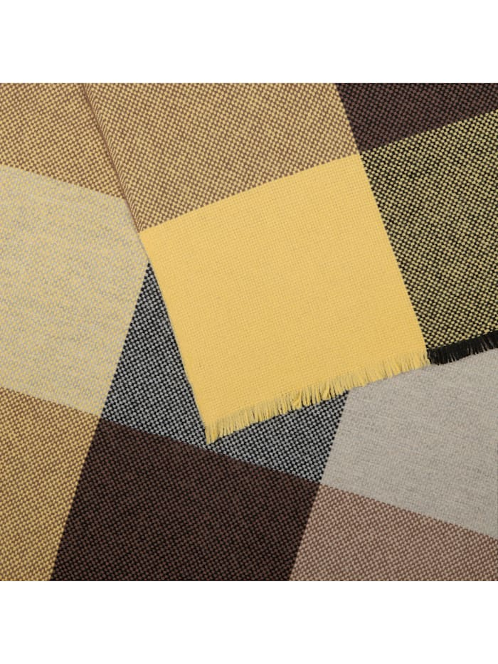 Premium Karo-Schal aus edler Wolle