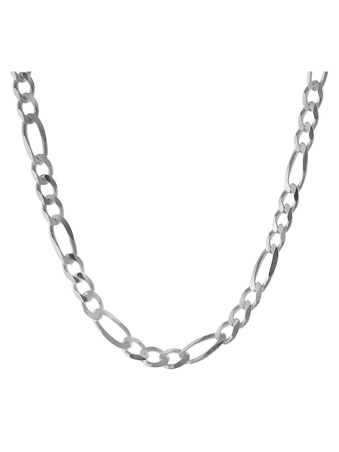 Silberkette für Herren 925 Sterlingsilber Figaro-Muster