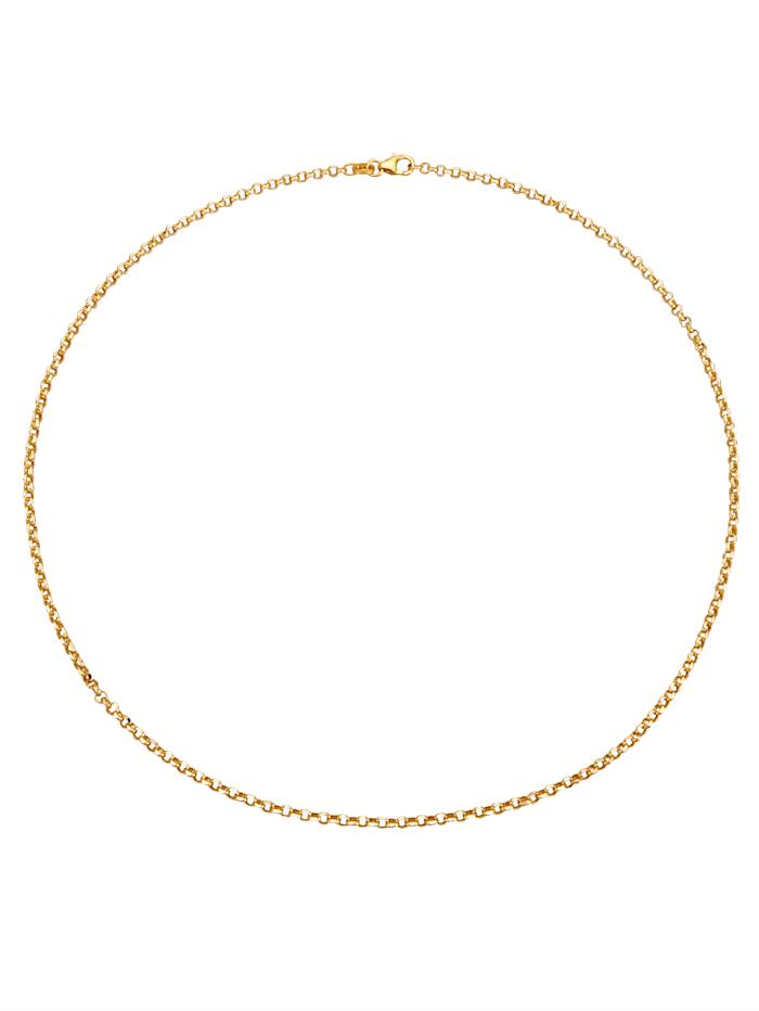 Ankerkette in Gelbgold 375, Gelbgoldfarben