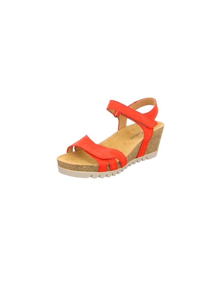 Gabor Sandalen/Sandaletten, rot