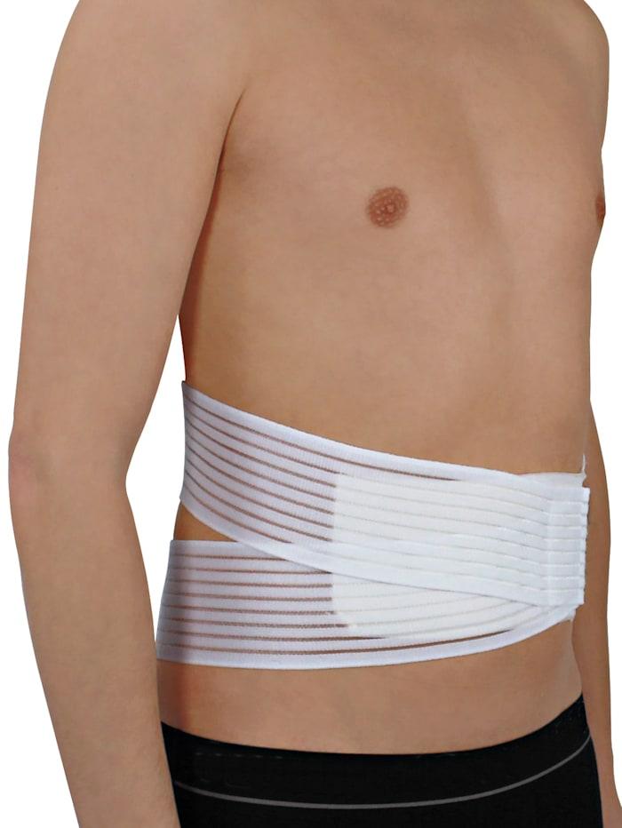 Hydas Rückenstützgürtel wahlweise mit oder ohne Kissen verwendbar, weiß