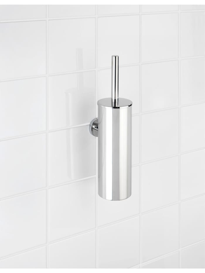 WC-Garnitur geschlossen Bosio Edelstahl glänzend, rostfrei