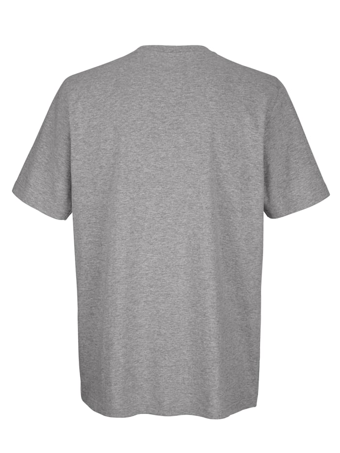 T-Shirt mit Druck im Vorderteil
