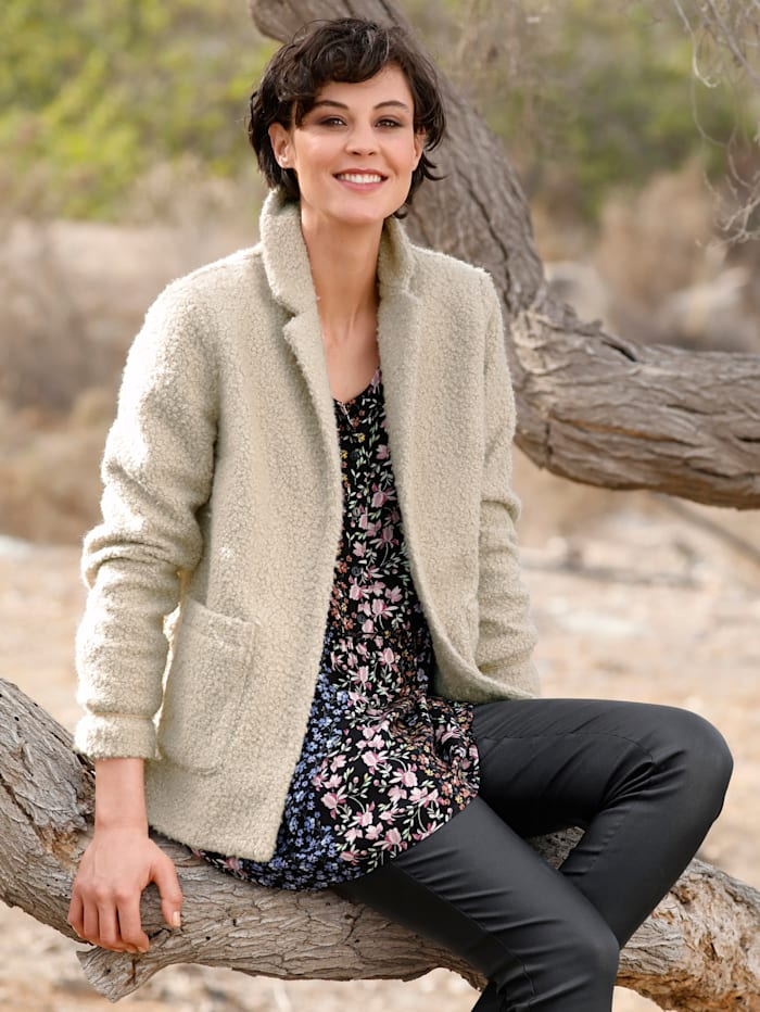 Dress In Jacke in kurzer Form, Natur