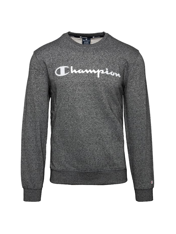 Champion Sweatshirt Crewneck, grau