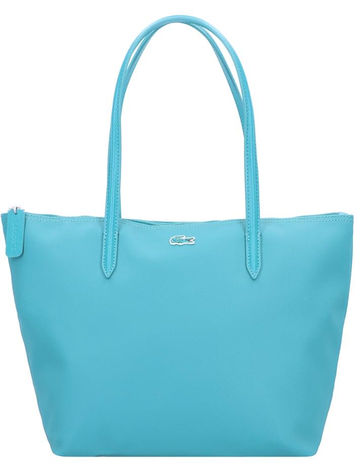 LACOSTE L.12.12 Concept S Shopper Tasche 24 cm, fog/email-eclipse blue