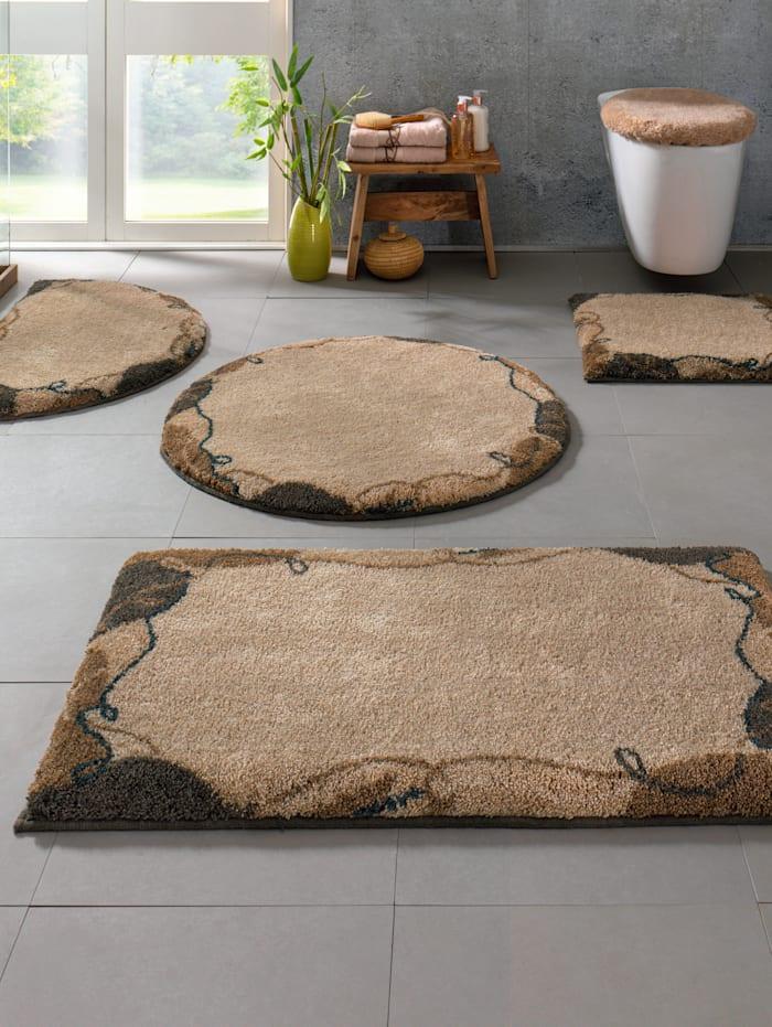 "Grund Kylpyhuoneen matto ""Carola"", beige/ruskea"
