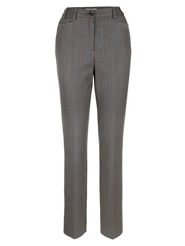Pantalon à motif rayé