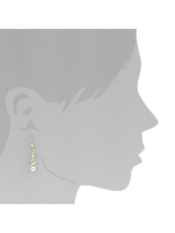 Ohrhänger - Lusia - Gold 333/000 - Zuchtperle