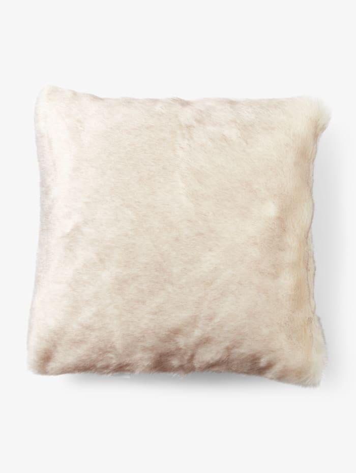 Tom Tailor Kuschelige Kissenhülle, sand