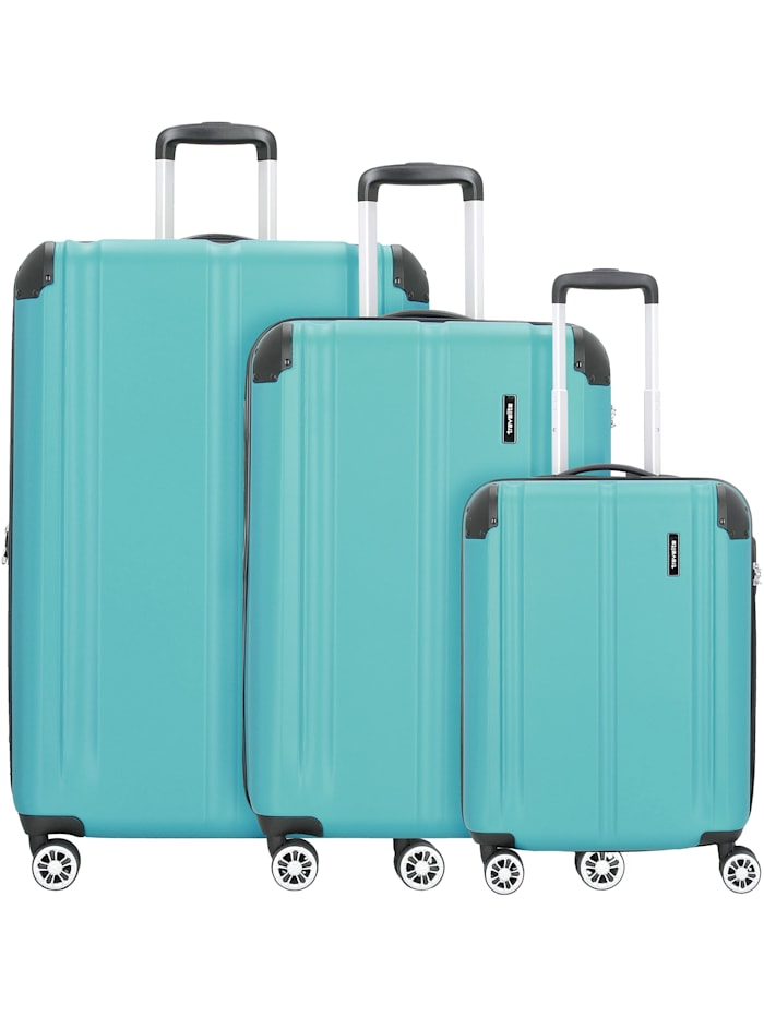 City 4-Rollen Kofferset 3tlg. 3-teilig