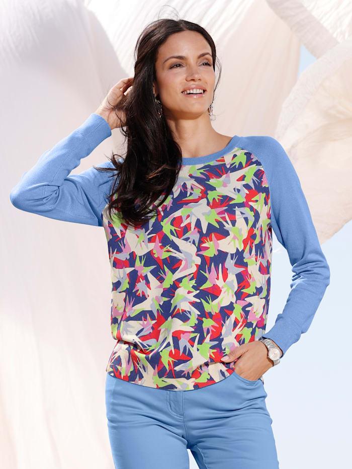 Pullover mit bedrucktem Vorder- und Rückteil