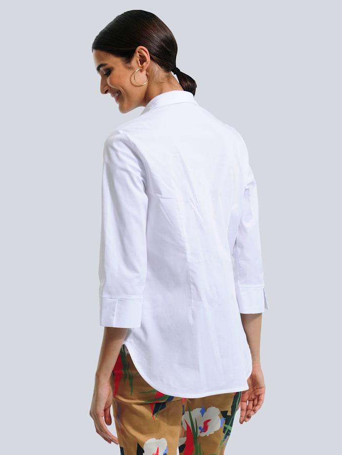 Bluse in Longform