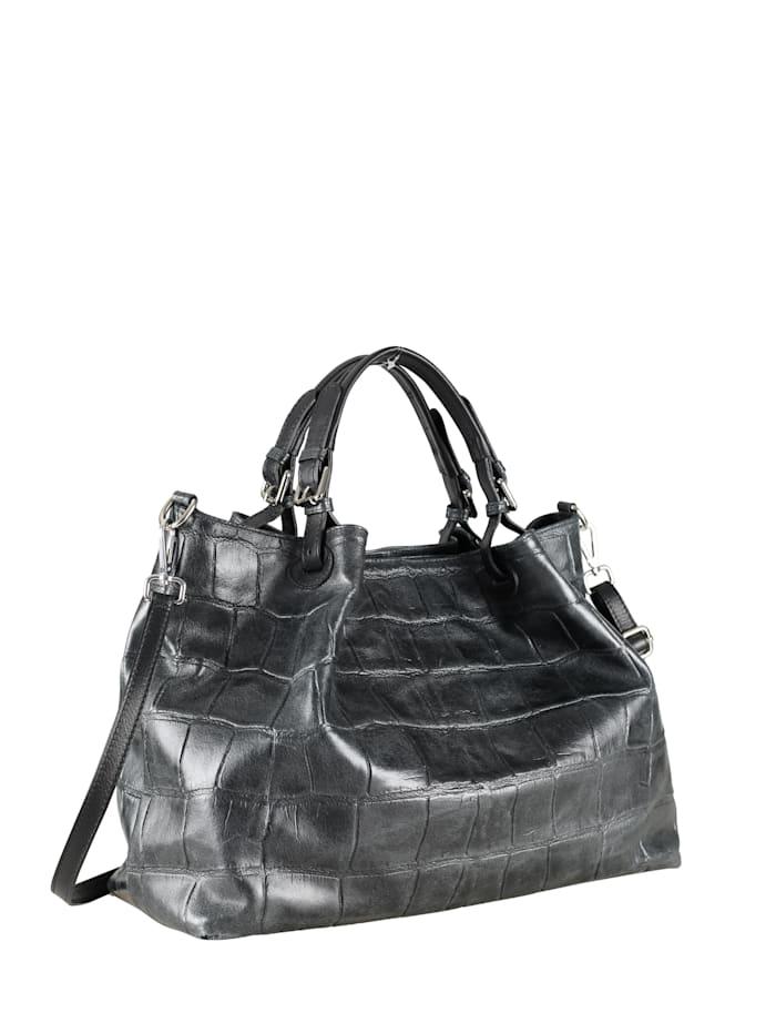 Collezione Alessandro XL Ledertasche McBarth Made in Italy, schwarz