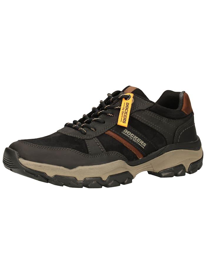 Dockers Dockers Sneaker, Schwarz/Braun