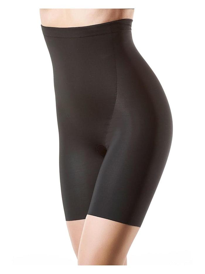 Susa Miederhose mit Bein, schwarz