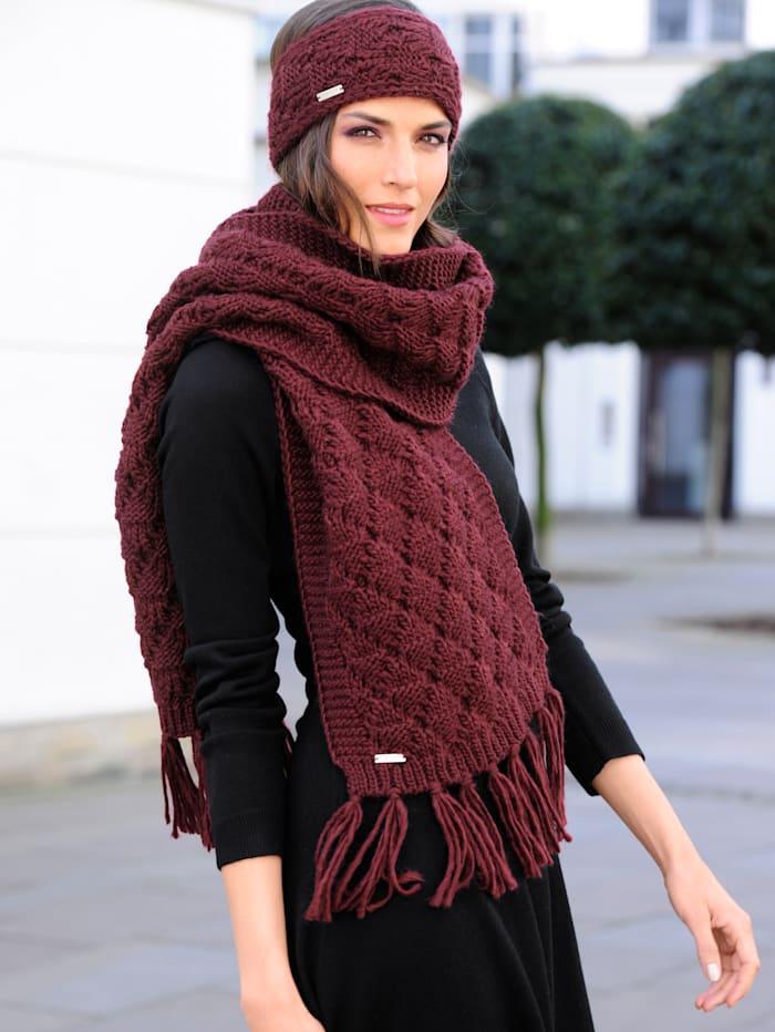 Sjaal van warm materiaal