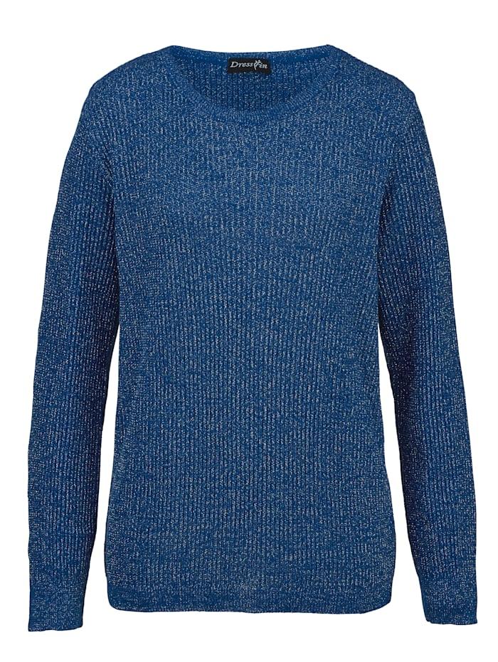 Dress In Glittrande tröja, Kungsblå