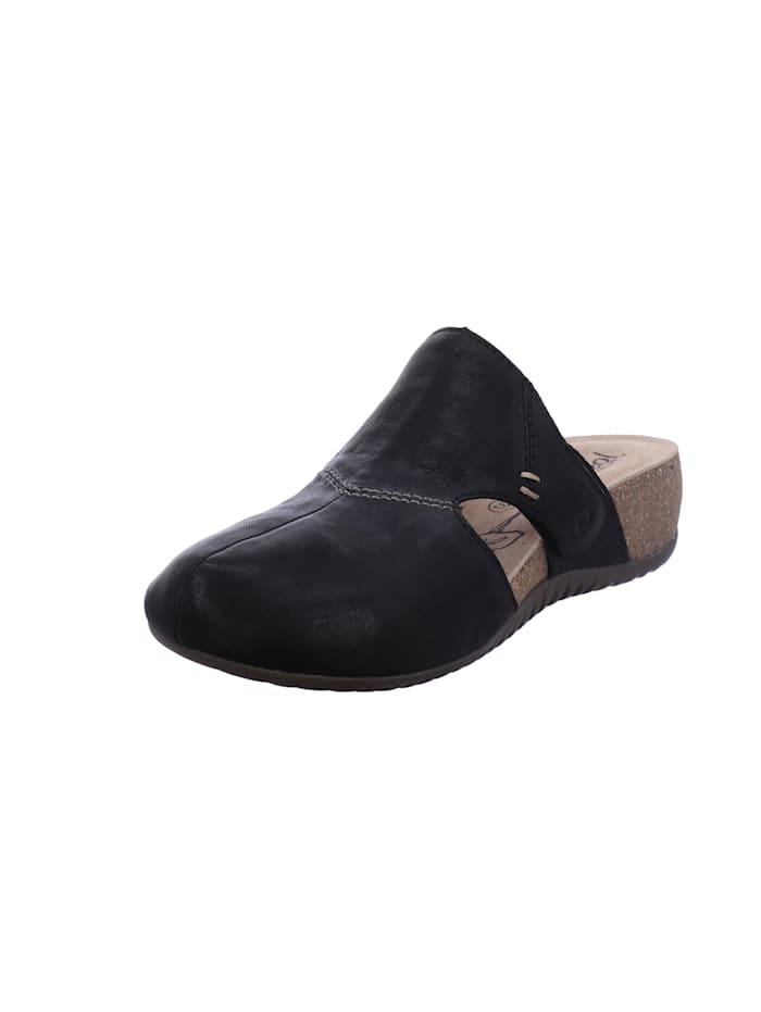 Josef Seibel Damen-Sandale Natalya 14, schwarz, schwarz