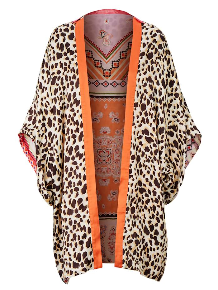 YIPPIE HIPPIE Kimono, Neonorange
