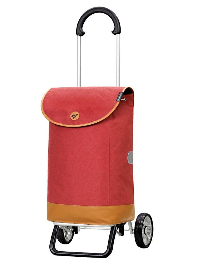Andersen Shoppingväska på hjul – Scala Plus Emil, korallröd