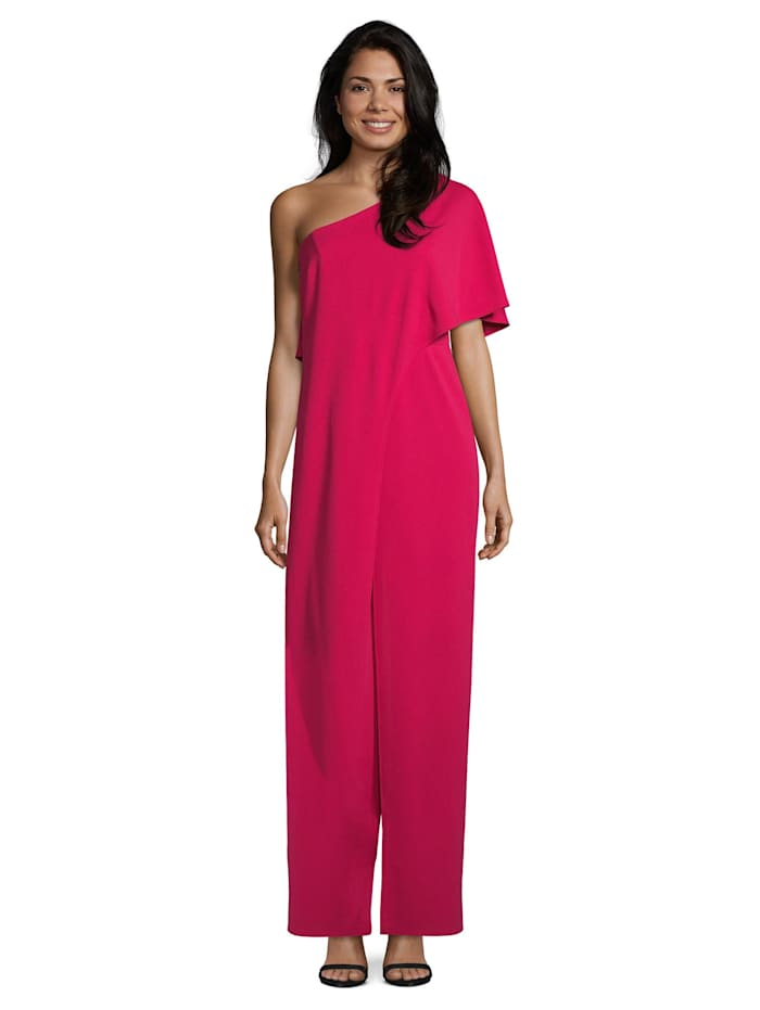 Vera Mont Jumpsuit im Layer Look, Red Berry