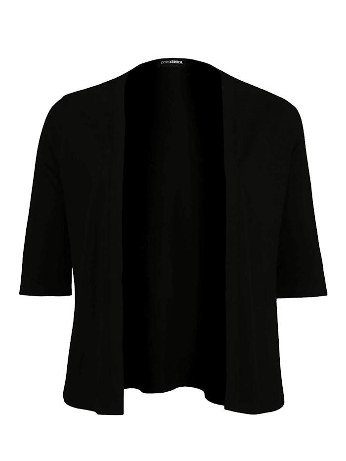 Doris Streich Jacke mit 1/2-Arm, schwarz