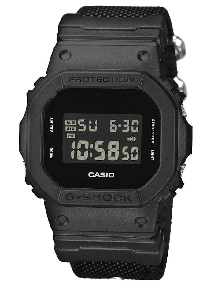 Casio G-Shock Digitaluhr Schwarz, Schwarz
