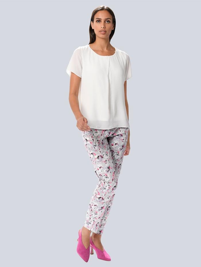 Pantalon à motif exclusif Alba Moda
