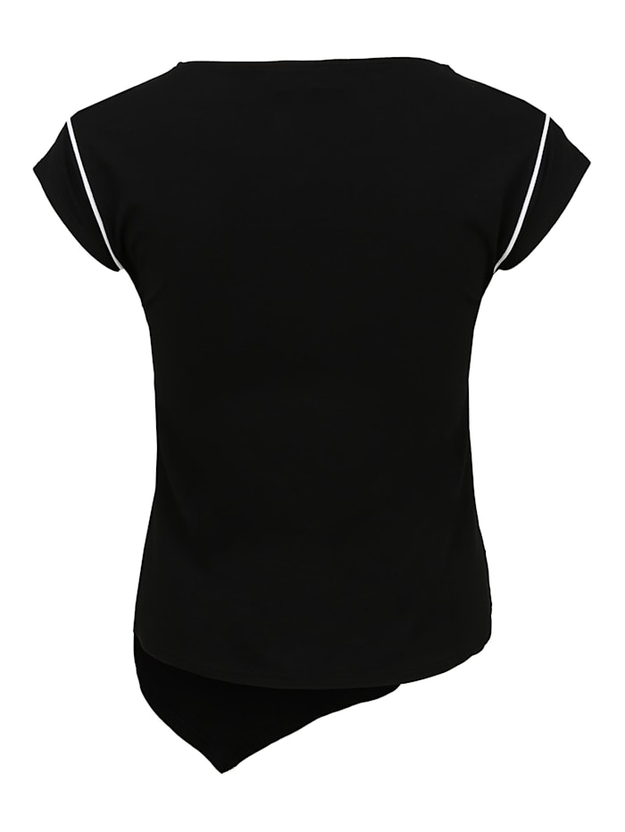 Shirt mit Paspeln Paspeln