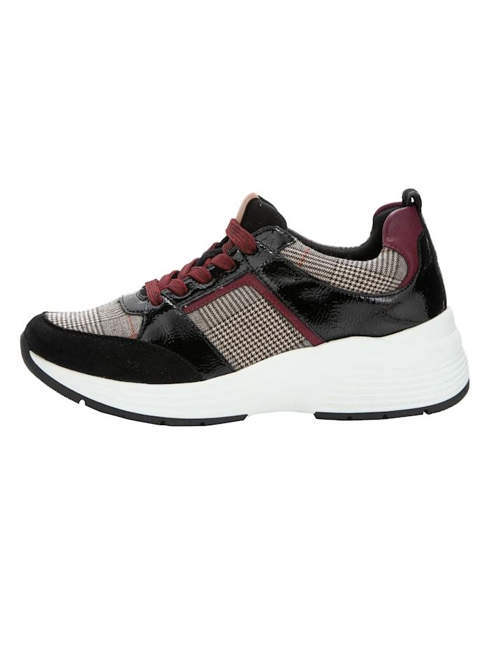 Sneakers à carreaux Prince-de-Galles