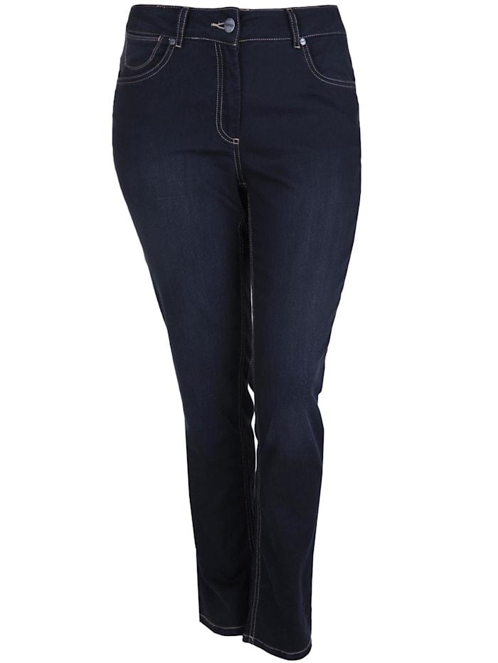 Doris Streich Jeans SUPER STRETCH DENIM, jeansblau